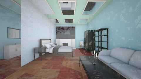 hotel suite - Modern - Bedroom - by Maryanne Hoffman