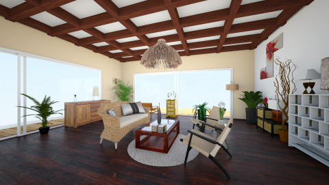 Asian Design - Living room - by Larise