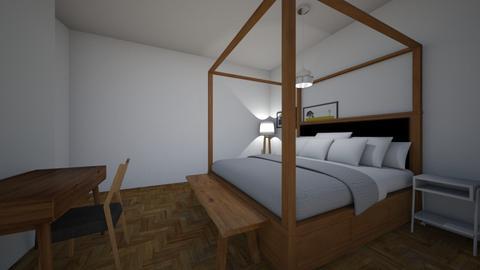 Oak - Bedroom - by Sadiesct