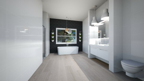 ensuite for bedroom 1 - by melon_grape