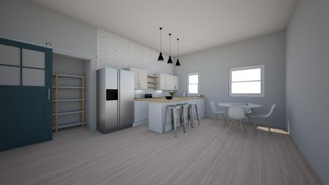 Small modern Kitchen - Modern - Kitchen - by ryry0801