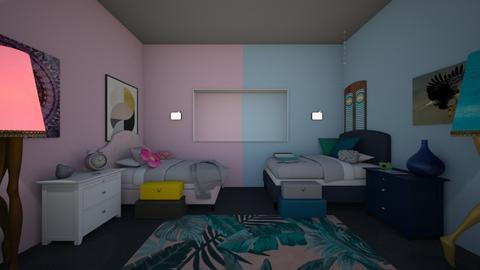split - Kids room - by iampebbles