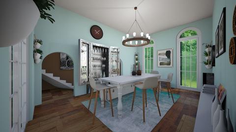Dining Room - Dining room - by Madisyn J