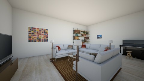calm - Living room - by person5
