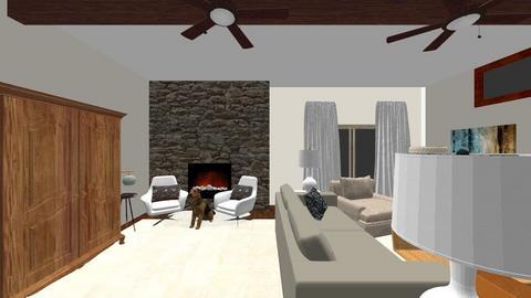 Overcrest Living Room - Eclectic - Living room - by natalielsherman