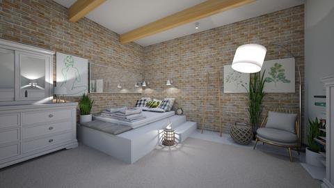 7 - Bedroom - by Aleksandra Boguta