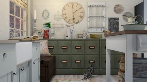 shabby chic kitchen - Kitchen - by boho_dreamer