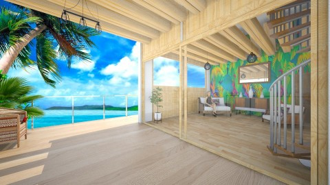 the tropics - Global - Living room - by donella