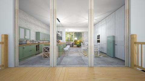 Green Kit - Kitchen - by sjm2025ozark