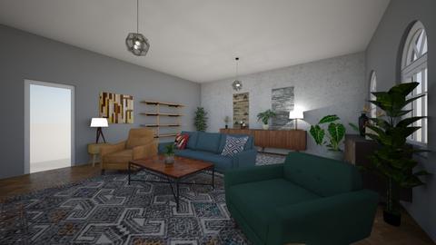 LV1 - Vintage - Living room - by Architekt442