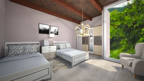 floresta - Bedroom - by Brian Goldman