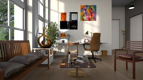 Bronze Details - Office - by ZuzanaDesign