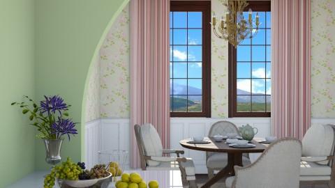 Afternoon Coffee - Vintage - Dining room - by DeborahArmelin