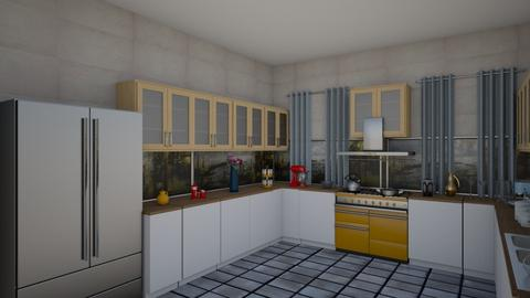 waheeb baessa3 - Kitchen - by waheeb