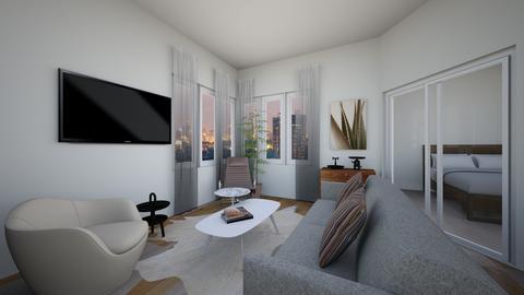 BC1brch - Living room - by evakarwowska