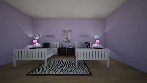 ldh double girls room - Kids room - by ellarowe224