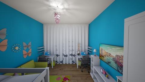 kinder room 2 - Kids room - by Yanegka