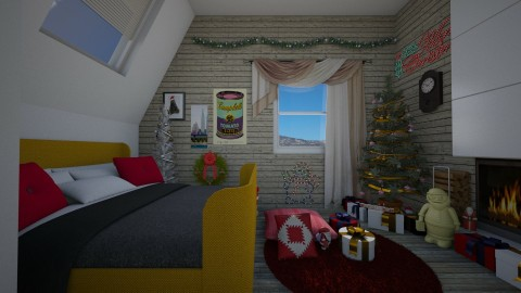 Christmas Bedroom - by Nameit