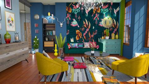maximalist living room - Living room - by Moonpearl