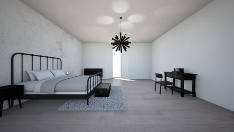 Minimal Bedroom - Minimal - Bedroom - by allyballymay