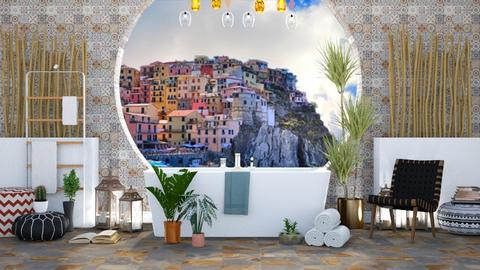 Boho Bath - Bathroom - by millerfam