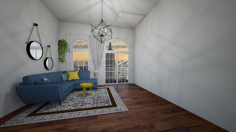 Apartment - Living room - by Zuzana K
