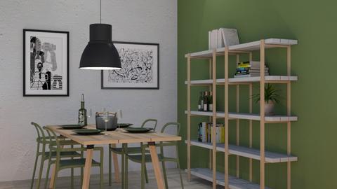 ypperlig olive - Dining room - by siljaj