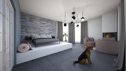 bedroom - by Zelena_