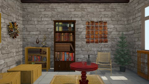 Barracks Lounge - Rustic - by Iraz