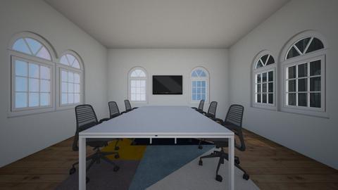 Conference Room  - Modern - Office - by Mynameislaurel