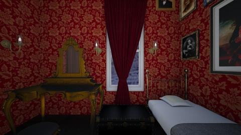 Holmes Bedroom - Bedroom - by SammyJPili