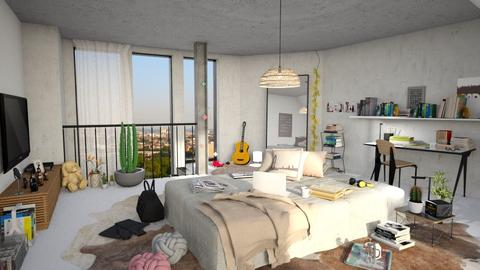 teenager - Bedroom - by bnu