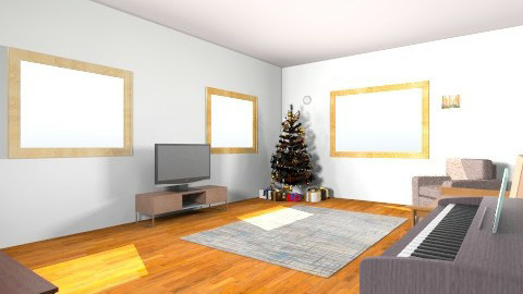 living room 1 - by Aliahamr