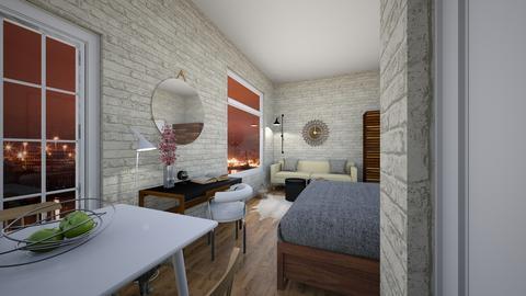 sm280D - Living room - by evakarwowska