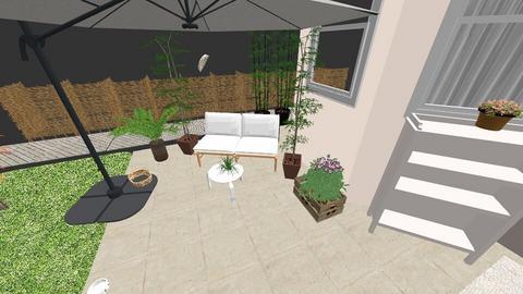 Terrasse unter Pergola - Garden - by caiine