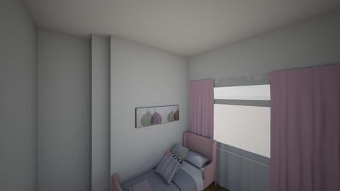 Evas room - Kids room - by akeboz