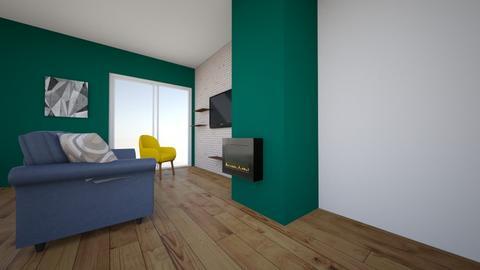Salon SZMARAGD - Living room - by Steefy