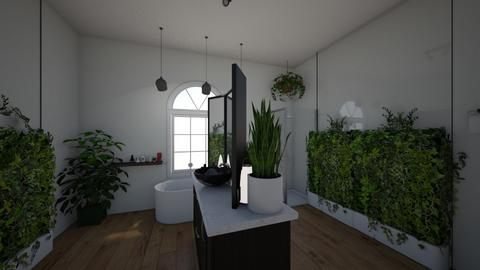 Urban Jungle Bathroom - Bathroom - by emmas004