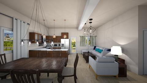 Residential Project - Classic - Living room - by Vladilena Kipriyanova