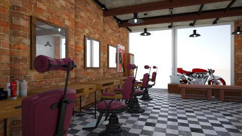 Barber Shop - by Kapi016