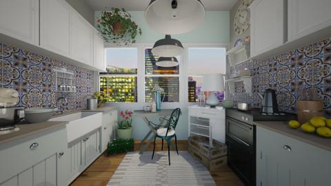 Tiny Vintage Kitchen - Vintage - Kitchen - by smccauley029
