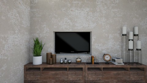 decor simples - Living room - by Tainaraa