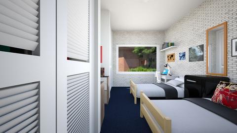 Dorm - Bedroom - by SammyJPili