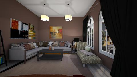 Pumpkin Spice Season - Living room - by hmgrl