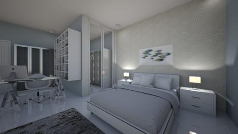 bed 1 - Bedroom - by fatimahasna
