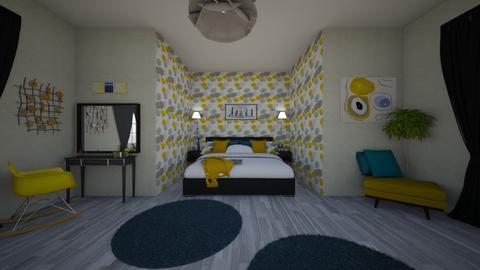 zz - Bedroom - by leptir88