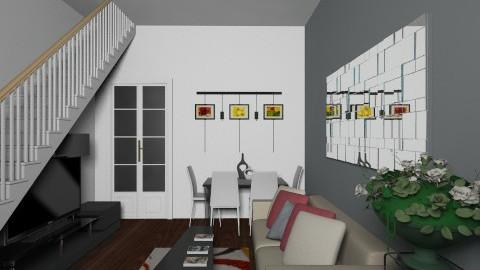 PDM1980 LivingRm9 - Modern - Living room - by PDM1980