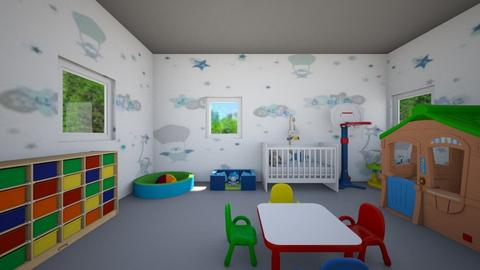 MILO  - Kids room - by Laura Drouhard
