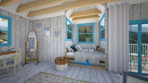 Mountain Retreat - Rustic - Bedroom - by giulygi