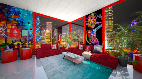 vibrant COLOURSS - Modern - Living room - by abraham samangun